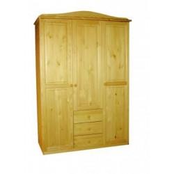 3 ajtós 3 fiókos szekrény