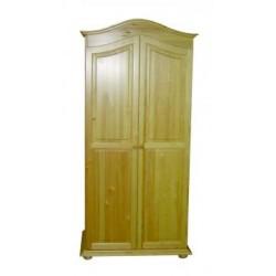 2 ajtós íves szekrény