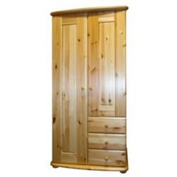 Viki 2 ajtós, 3 fiókos szekrény (akasztós vagy válaszfala